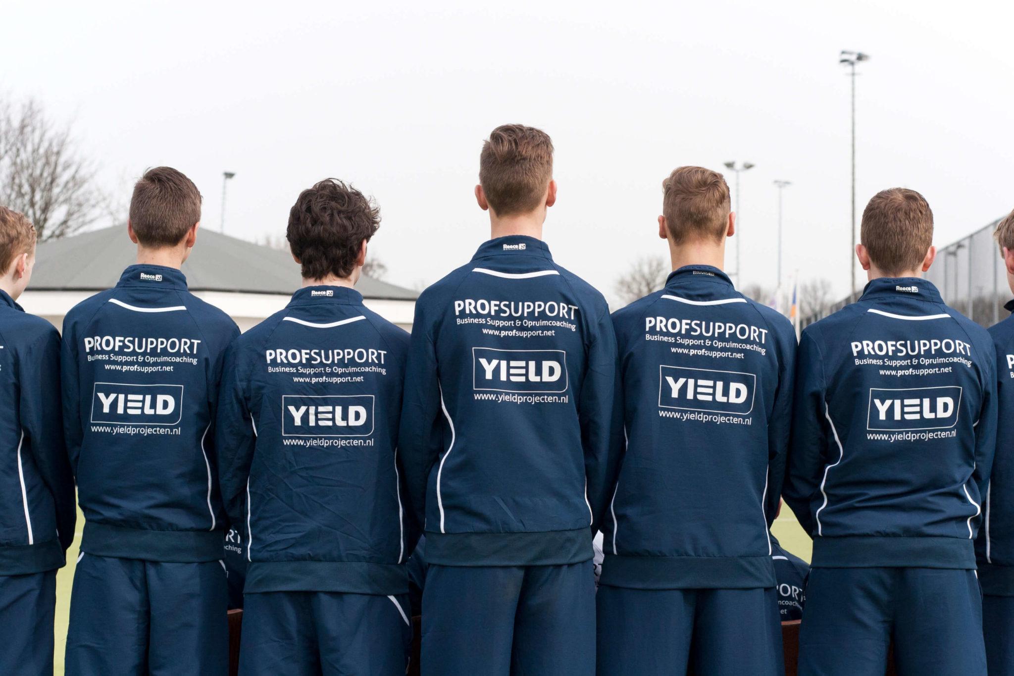 Yield sponsor van NHC De IJssel