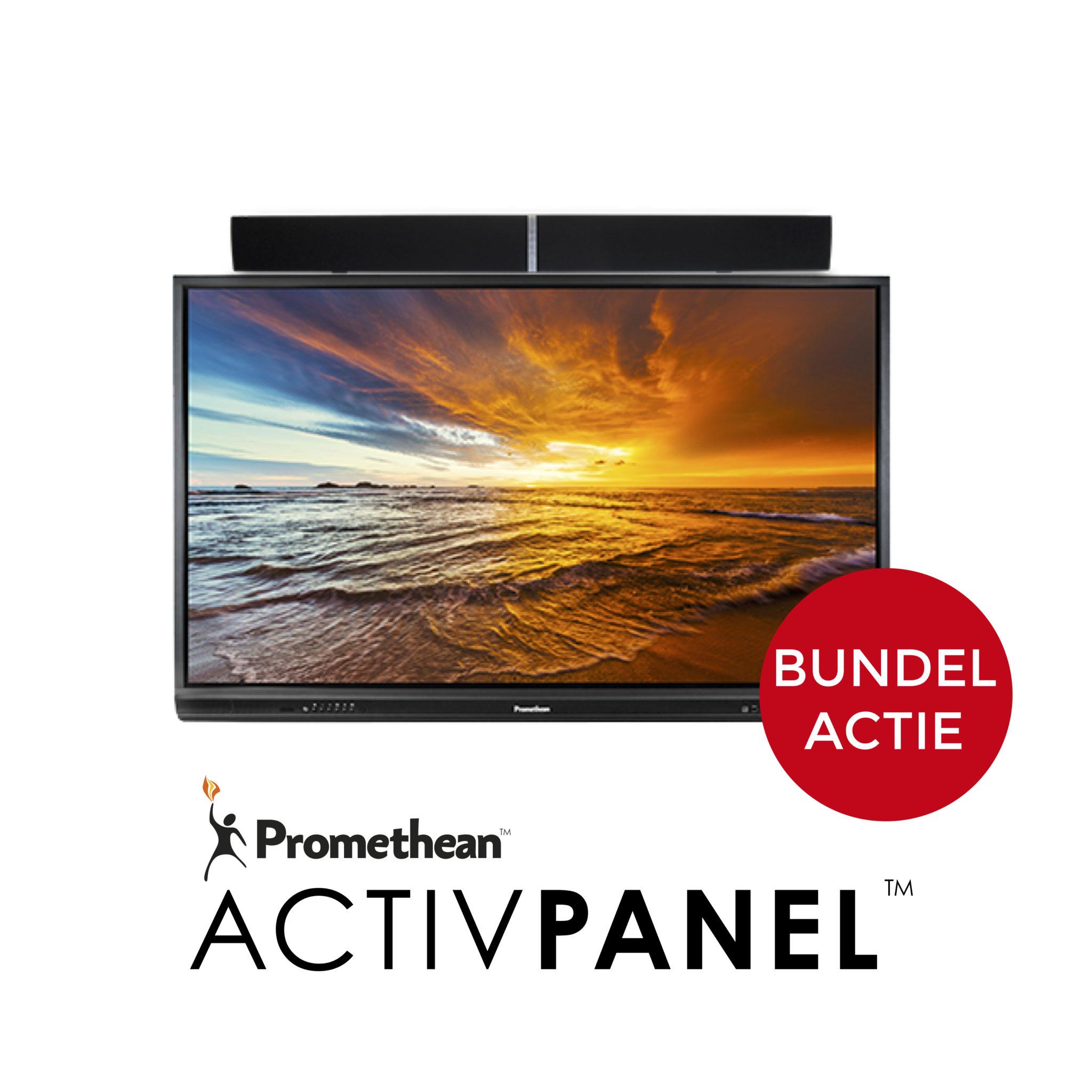 BUNDELACTIE ActivPanel + ActivSoundBar