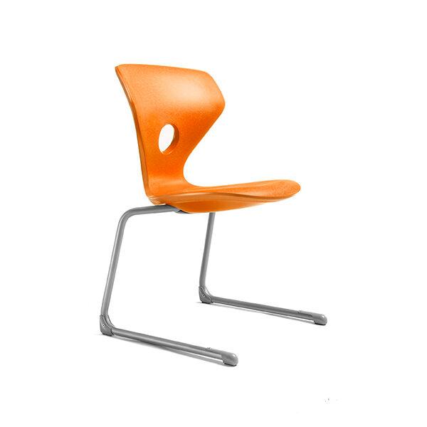 Leerlingstoel Pinna oranje | Yield Projecten B.V.