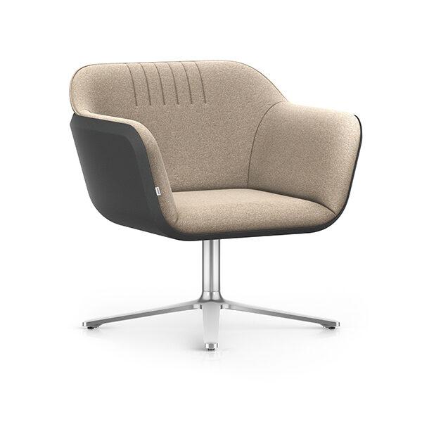 Interstuhl Hub Loungestoel hoog | Yield Projecten B.V.