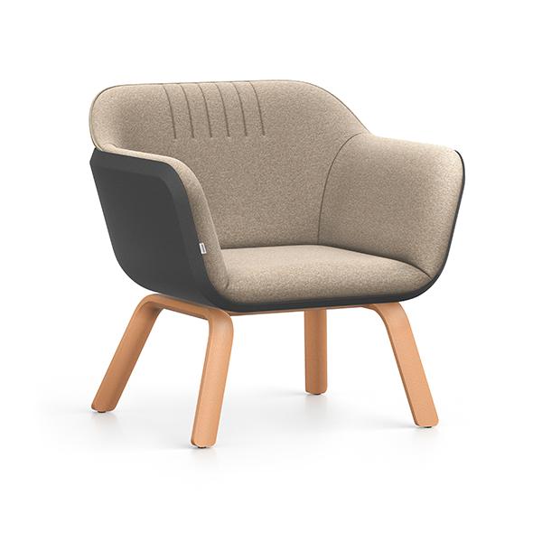 Interstuhl Hub Loungestoel hoog   Yield Projecten B.V.